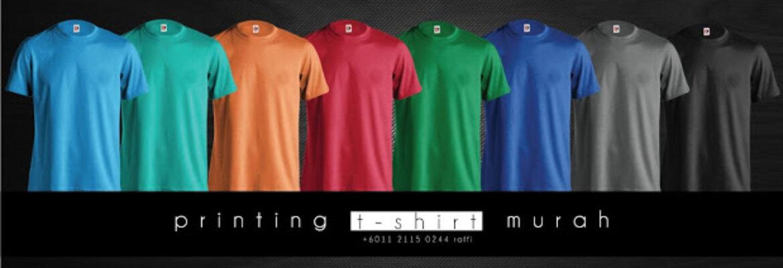 Printing T-shirt Murah