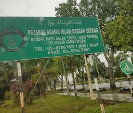 pejabat agama islam daerah sepang